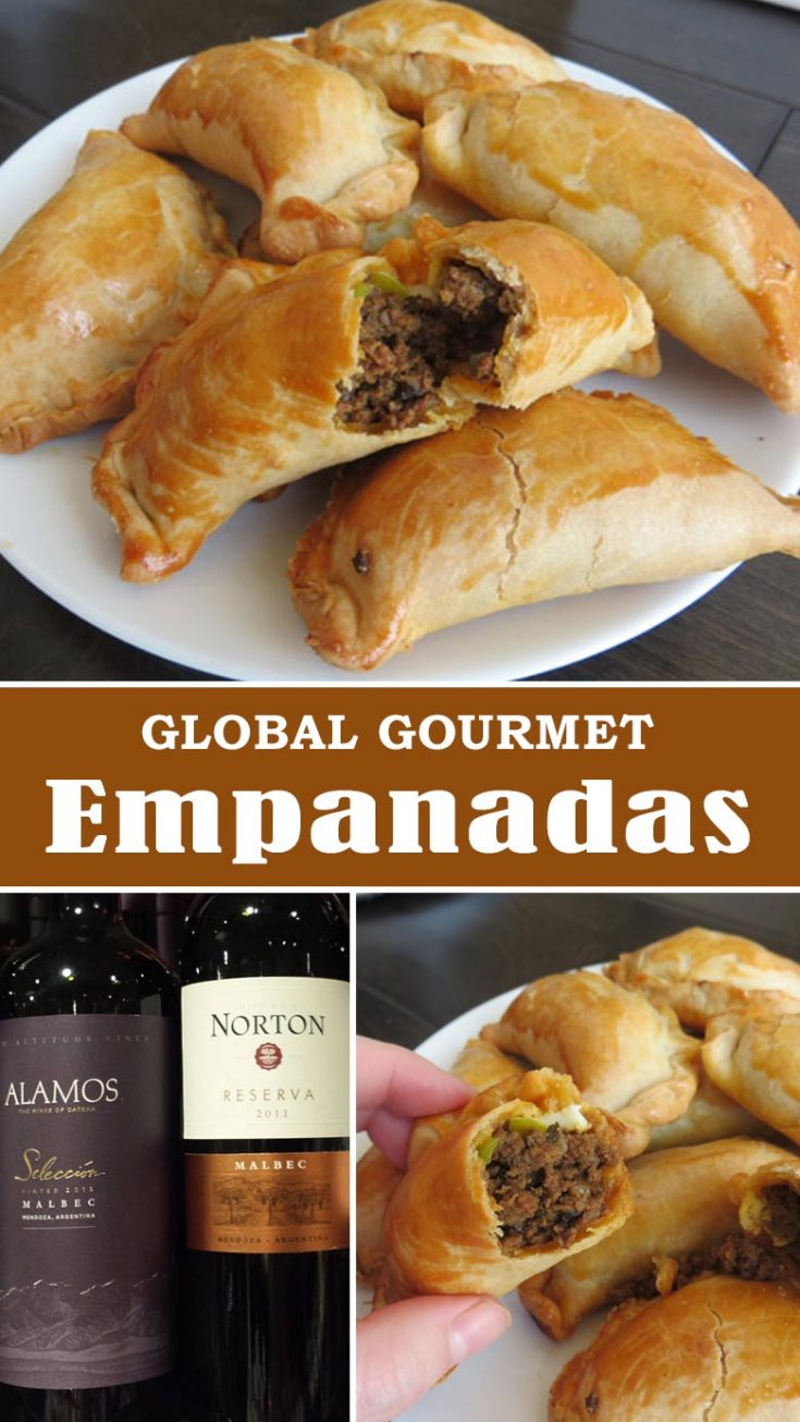 These traditional Argentine Empanadas don't require a lot of time or a ton of ingredients. And they can be frozen to eat later. Make a big batch today. | Empanadas | Beef Empanadas | Finger Food #empanadas #beef