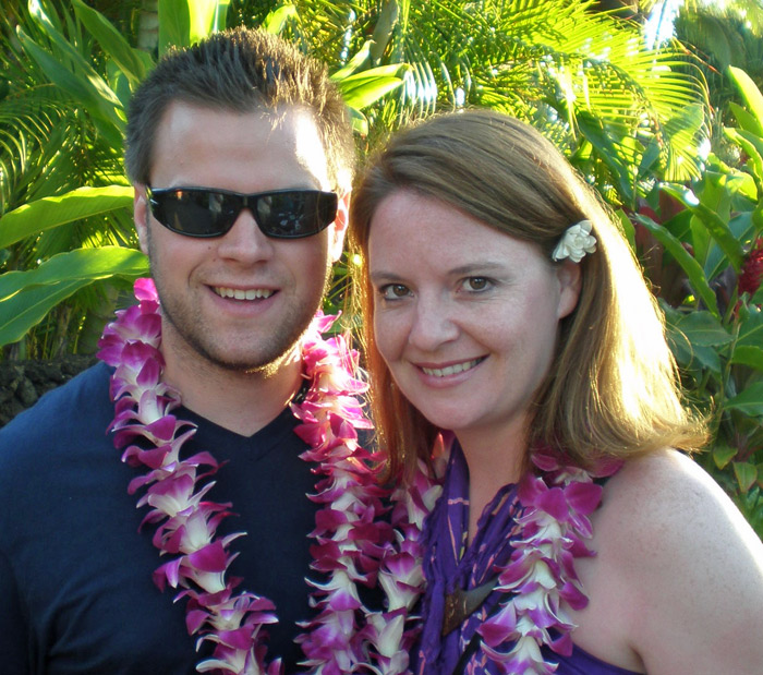 Nick & Laura in Hawaii