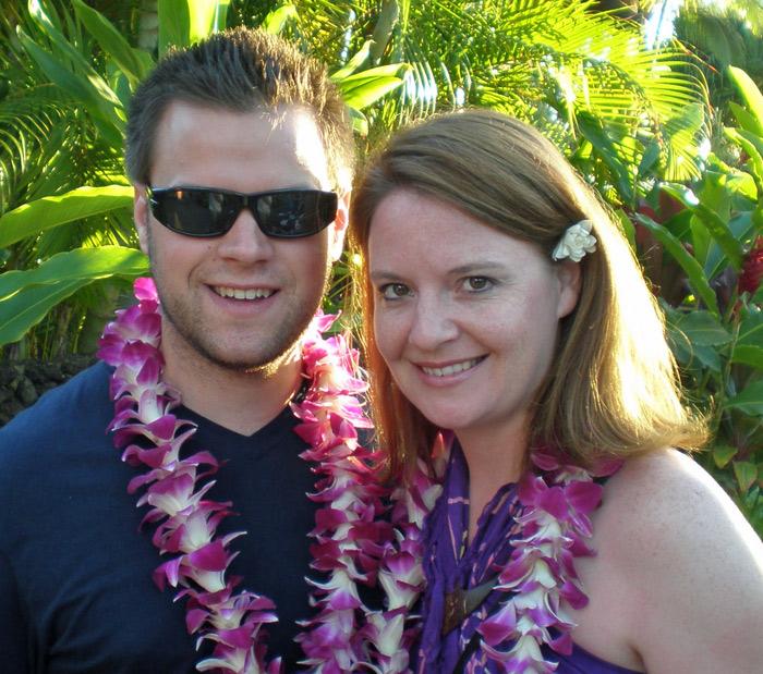 Nick & Laura in Hawaii