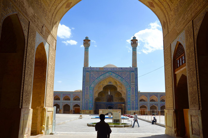 Jame Mosque in Isfahan, Iran