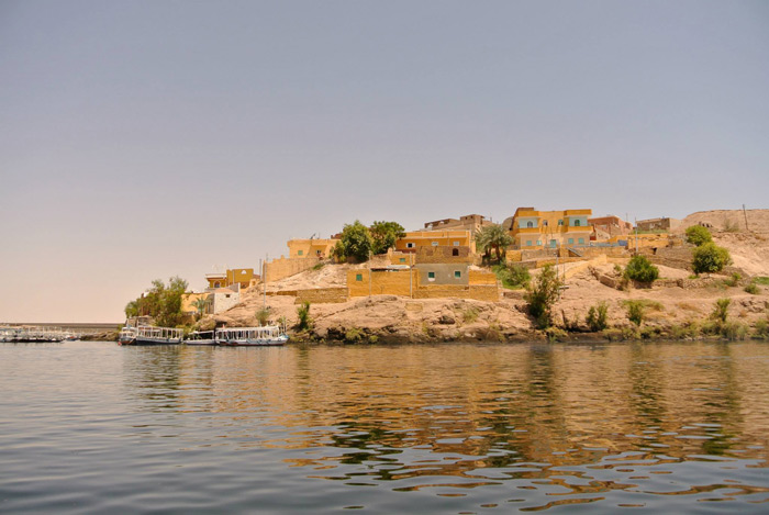 The docks to Aswan's Philae Temple.