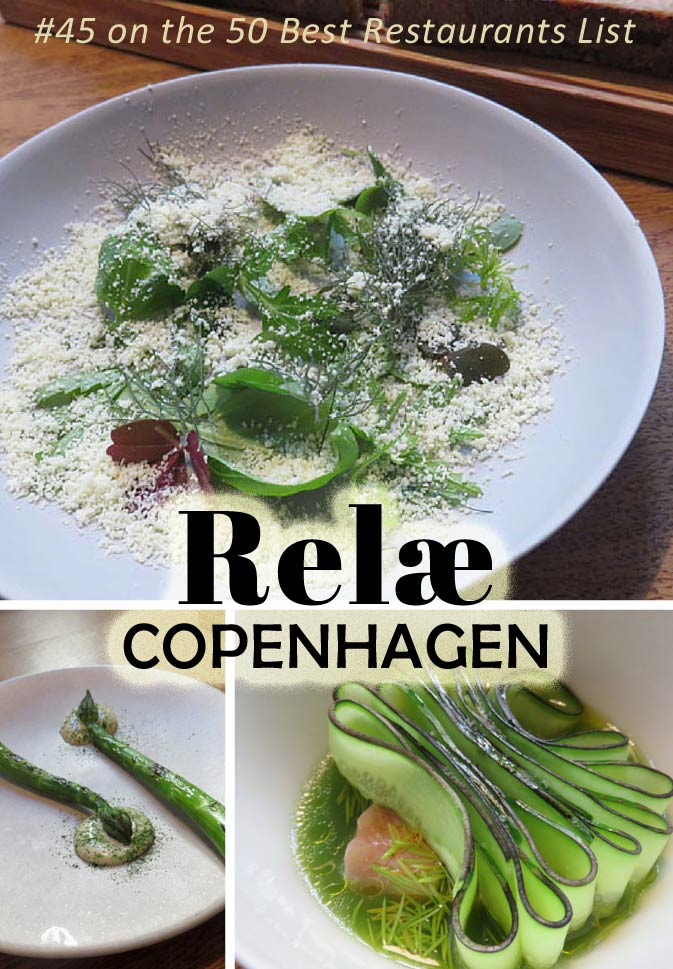 Relae in Copenhagen, ranked #45 on the 50 Best Restaurants List