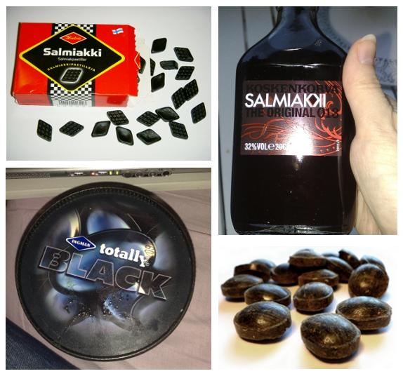 Many forms of salmiak