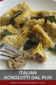 Italian stuffed pasta
