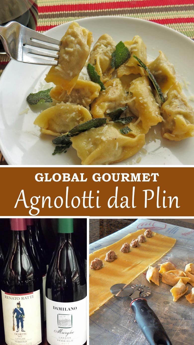 Global Gourmet: Learn how to make Italian Agnolotti dal Plin at home