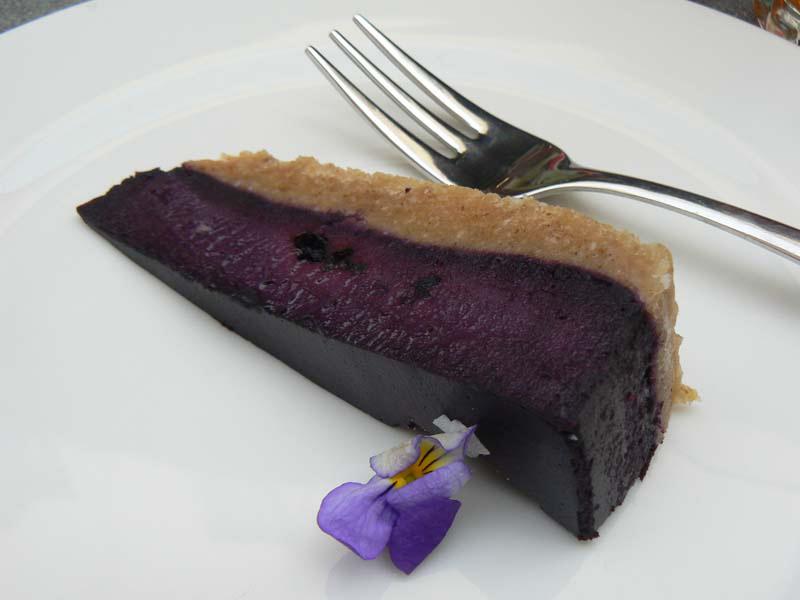 Mustikkapiirakka (blueberry pie