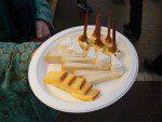 Finnish cheese tasting