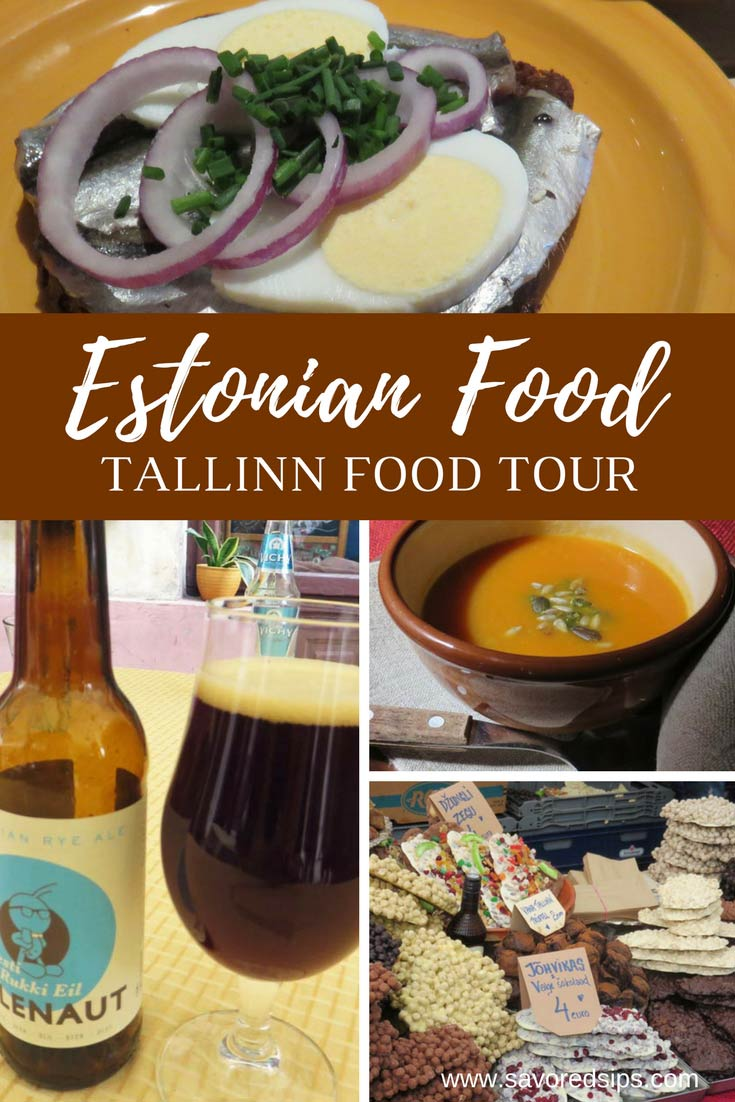 Get to know Estonian Food on a Tallinn Food Tour