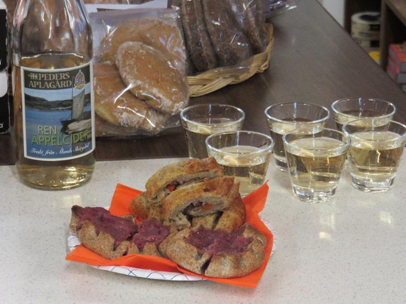 Karelian Pie and Finnish cider