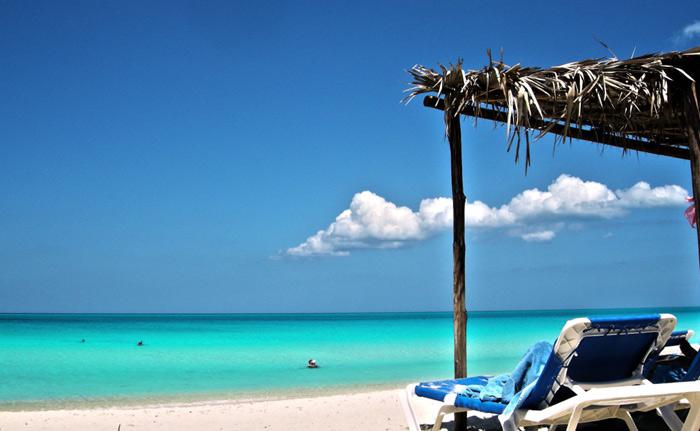 Santa Maria Beach in Cuba