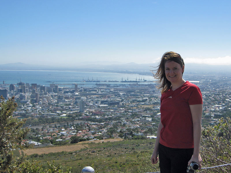A view of Cape Town, South Africa