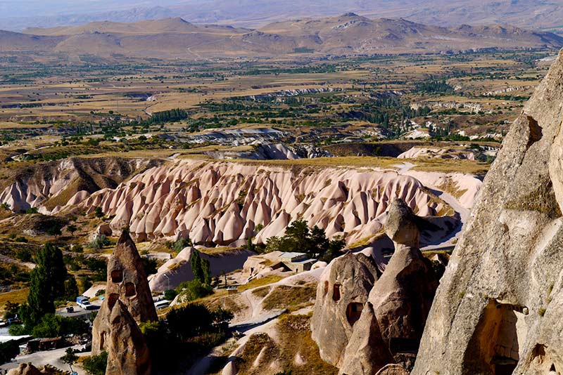 Visit the beautiful landscape of Cappadocia, Turkey on your next vacation