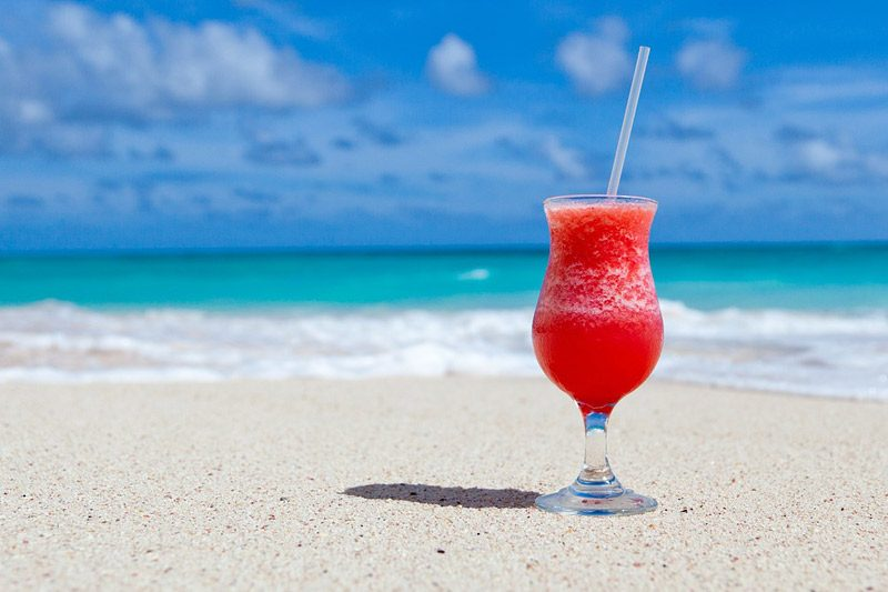 best beach drinks