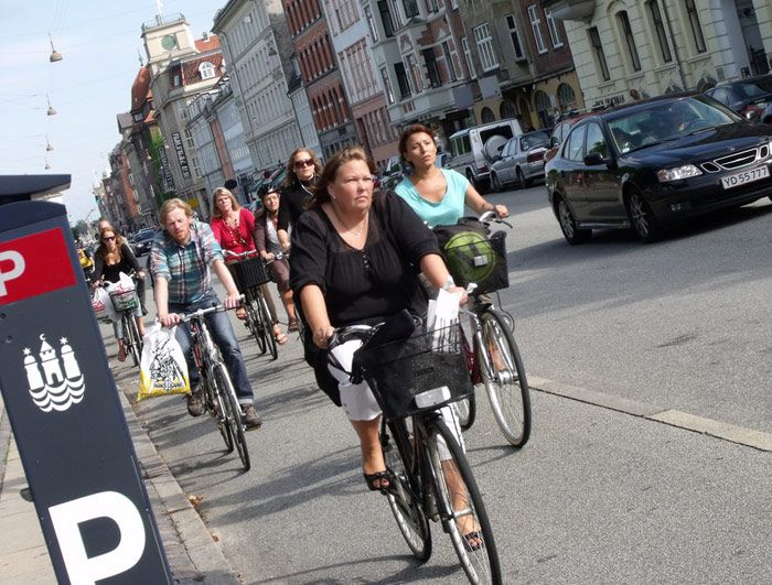 Biking is the way to get around Copenhagen