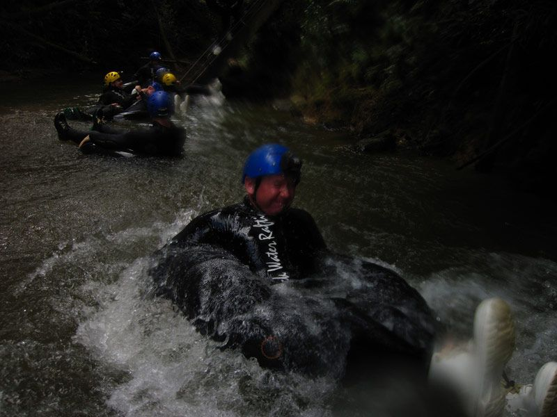 Rafting with the Black Water Rafting Co.