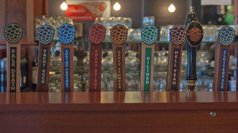 Double Mountain tap handles