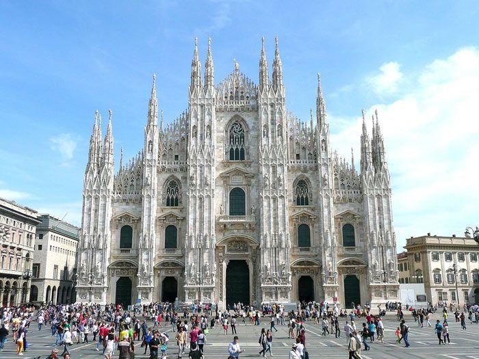 Duomo di Milano in Milan, Italy