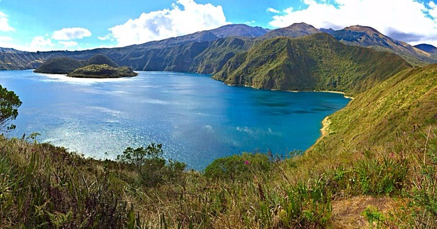 A lake in Ecuador
