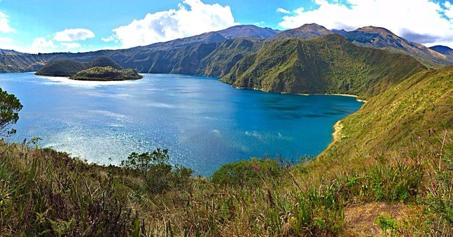 A lake in Ecuador