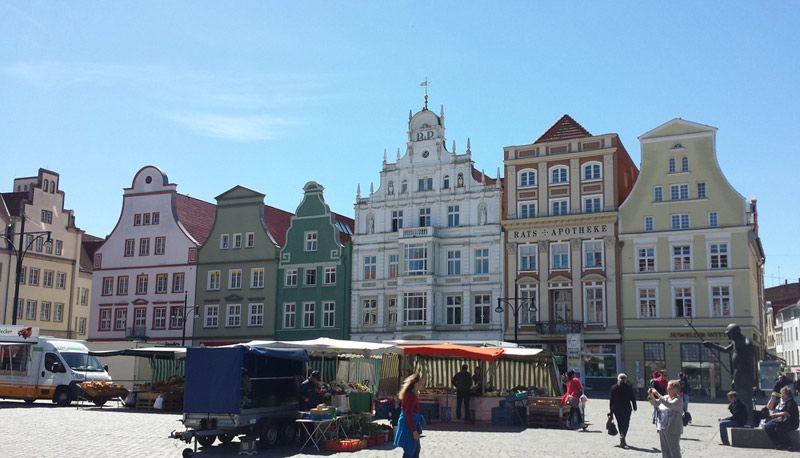 Rostock town square
