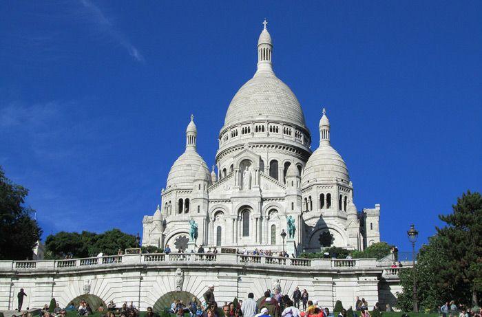 Sacre Couer in Paris, France