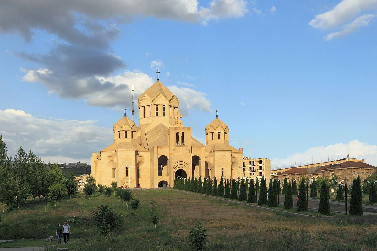 Saint Gregory the Illuminator Cathedral in Yerevan, Armenia