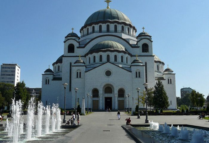 The Cathedral of Saint Sava in Belgrade, Serbia