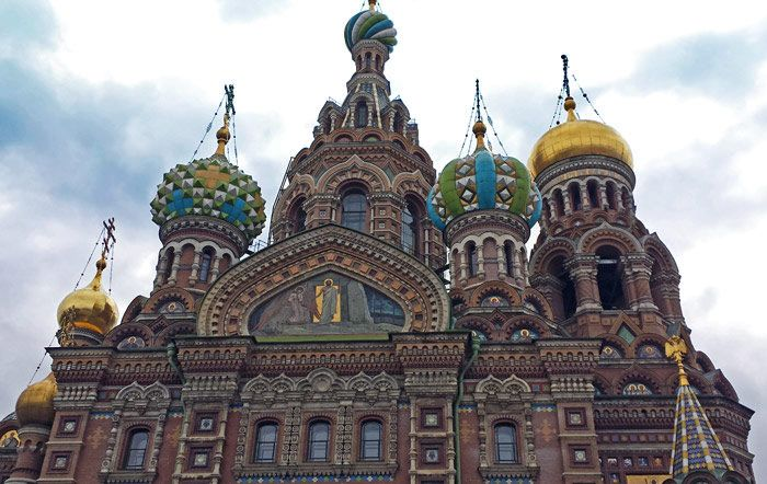 Church of our Savior on Spilled Blood in St. Petersburg, Russia