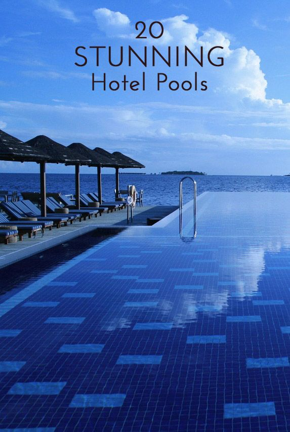 20 Stunning Hotel Pools to visit for your winter vacation
