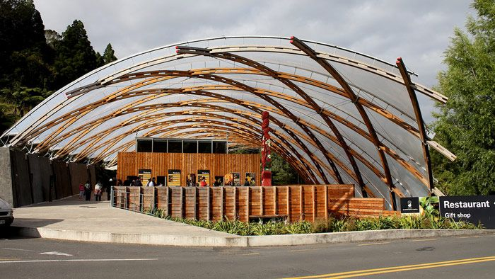 Waitomo Caves Visitor Centre (Photo by Flickr User Kristine D.C. Hoeppner)