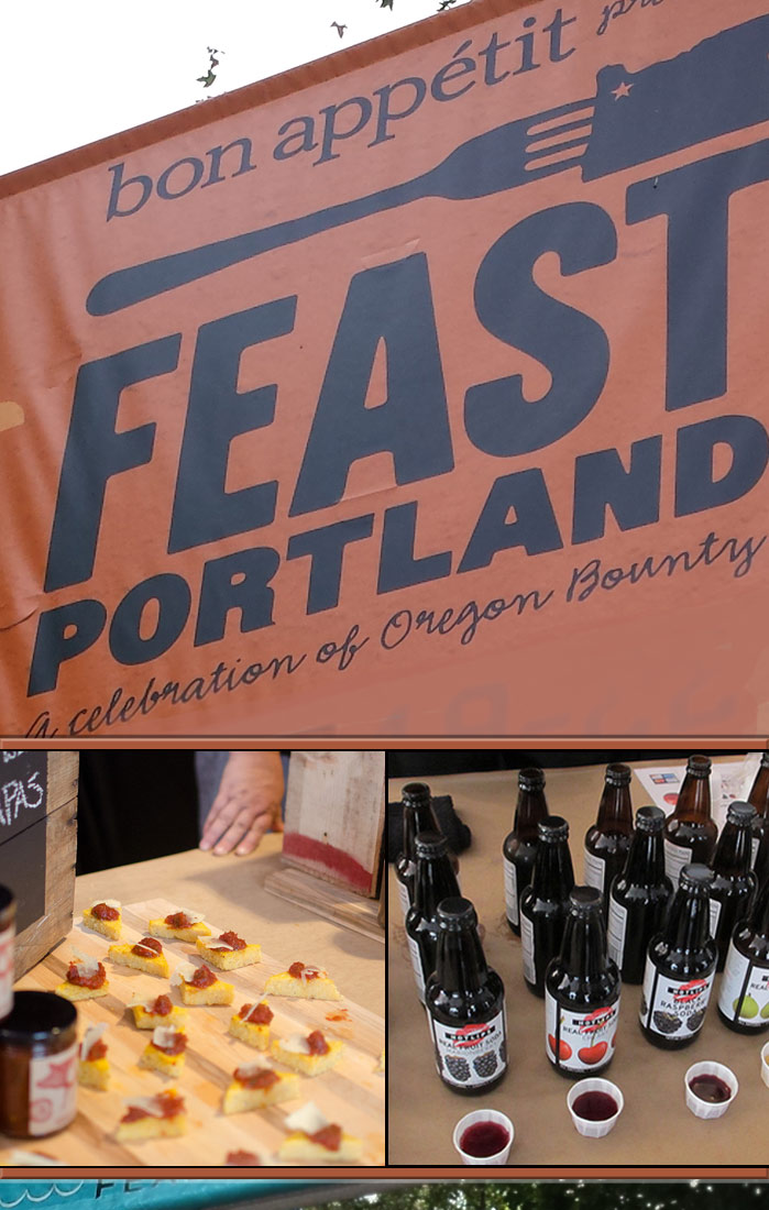 Feast Portland - an event celebrating Oregon's Bounty