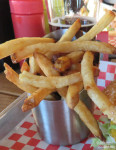 Giddy Up Burger's fries