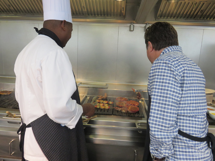 Grilling with the Chef at the Lawn Club Grill