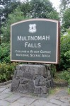 Multnomah Falls, a 620-foot high waterfall found only 20 minutes from Portland, Oregon
