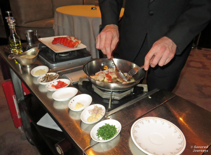 Tableside cooking
