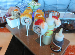 Sushi Lollipops