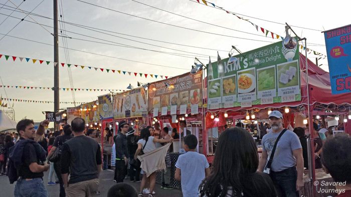 The crowds can get thick at the Richmond Night Market