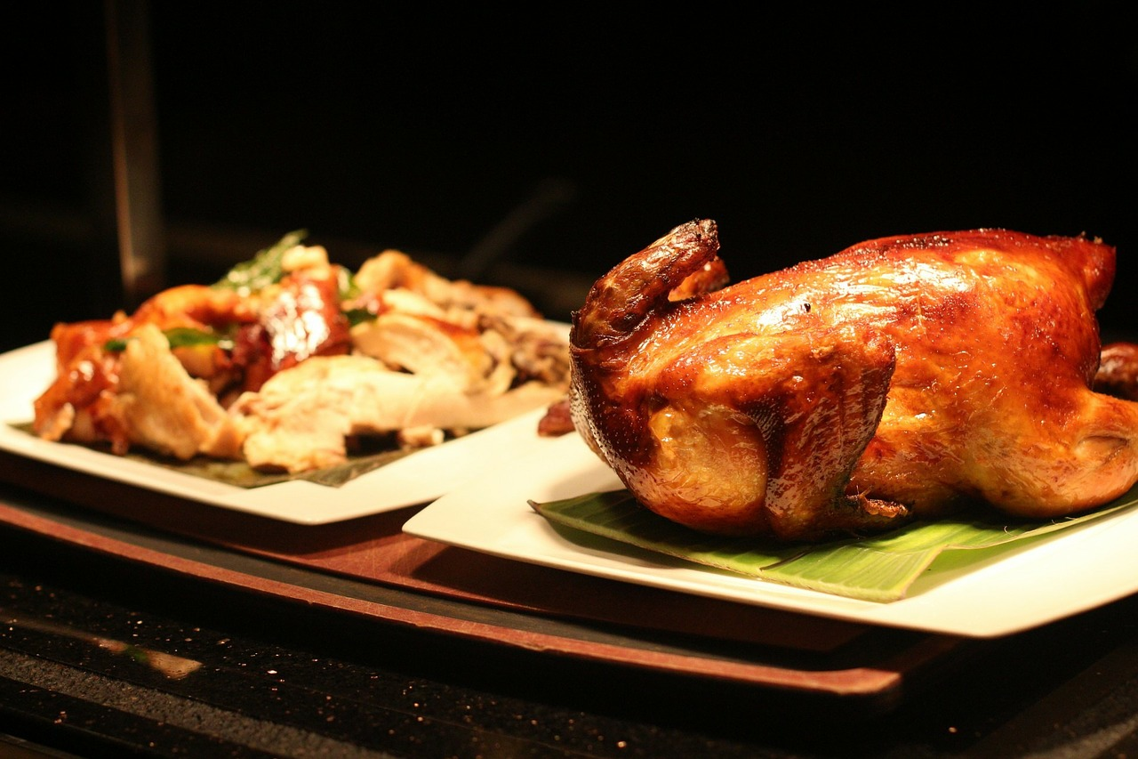 Roast Duck hot from the oven