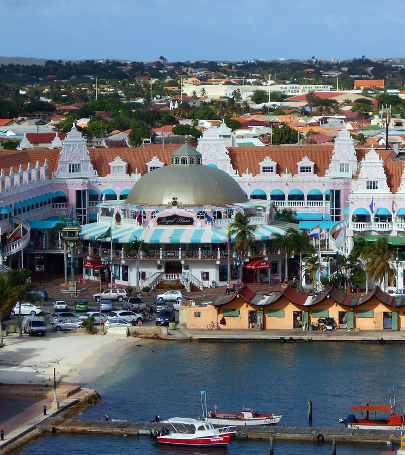 Southern Caribbean cruise port