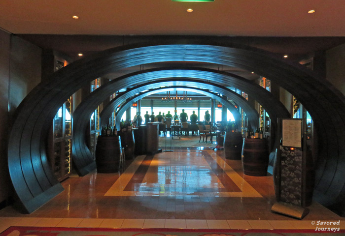The entrance to Tuscan Grille