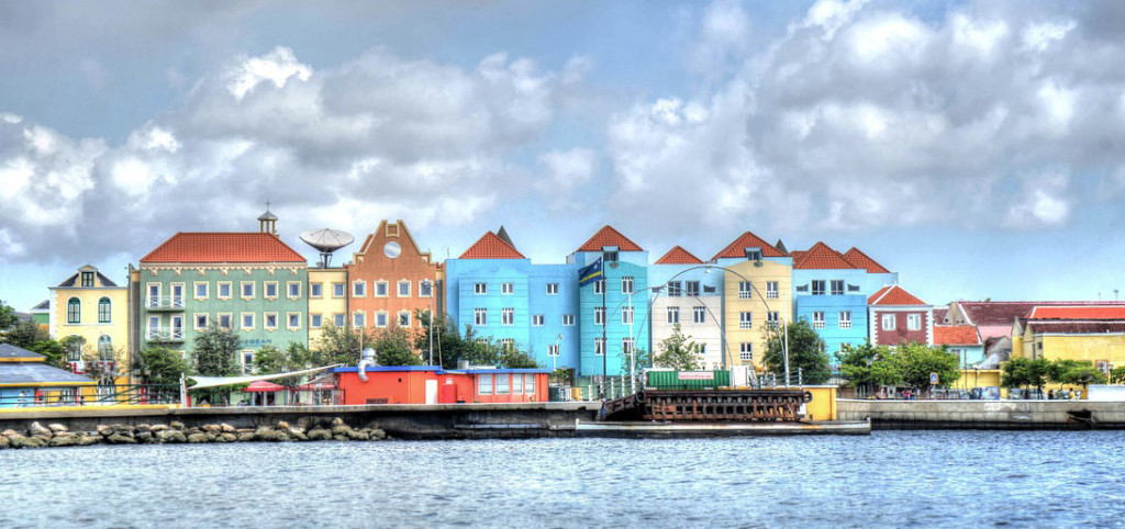 Willemstad, Curacao in the Netherlands Antilles