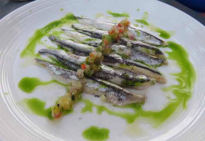 Sardines at Bravas