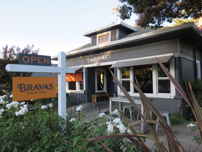 Bravas Spanish Restaurant in Healdsburg, California