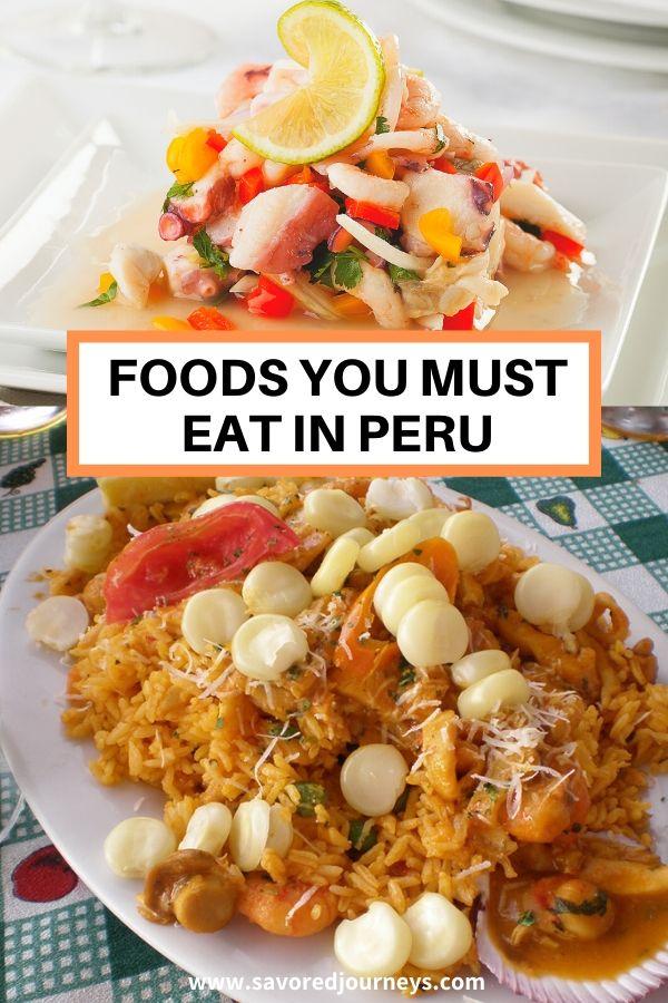 things to eat in peru