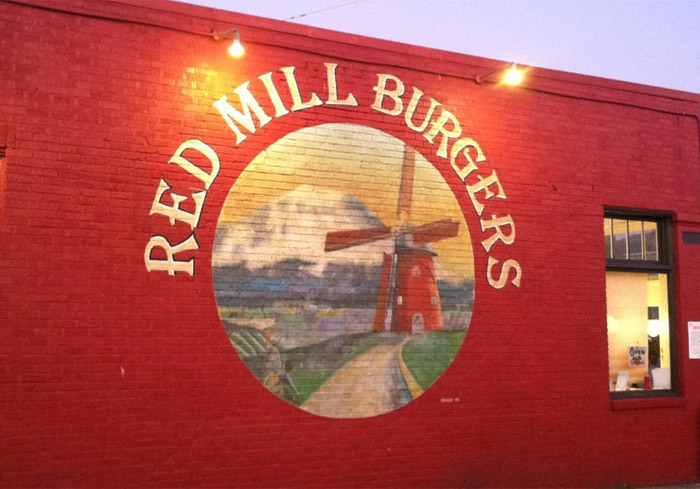 Red Mill Burgers Interbay location