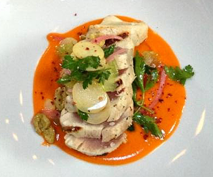 A delicious tuna dish from Rock Creek