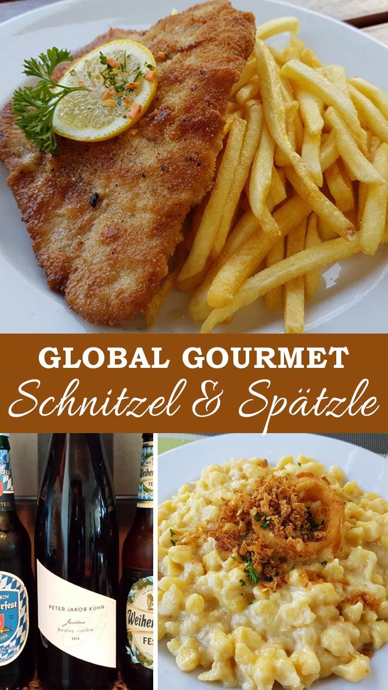 German Schnitzel & Spatzle Recipes