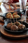 Fork & Balls Beef and Chicken Meatballs