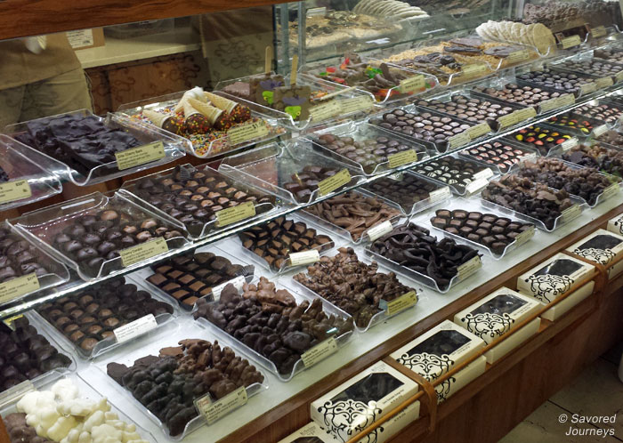 Chocolates from Kilwin Sweets Shop