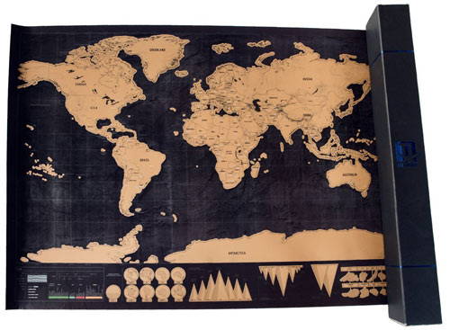 15 Perfect Gifts for World Travelers – World Map Gifts For Travelers